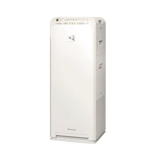 Purificator de aer Daikin MCK55W, Purificare Flash Streamer, Ionizator cu plasma, Filtre Hepa, Umidificare, alb